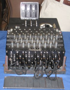 ...an Enigma machine