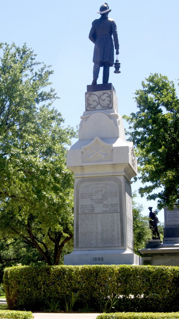 Volunteer Fireman's Monument, Texas S